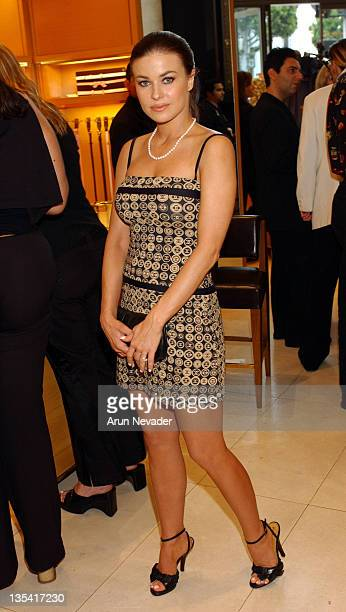 Carmen Electra during Louis Vuitton Hosts KickOff for Project Angel FoodÆs Divine Design 2003 at Louis Vuitton in Beverly Hills California United...