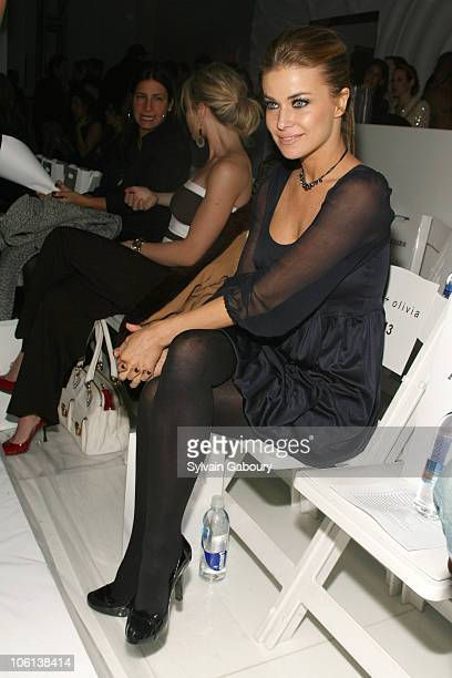 Carmen Electra during MercedesBenz Fashion Week Fall 2007 Alice Olivia Arrivals and Frontrow at Atelier Building at 635 West 42nd Street in New York...