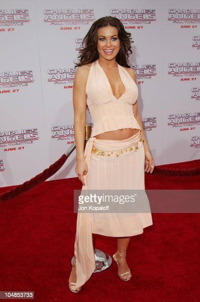 Carmen Electra during Premiere of 'Charlie's Angels Full Throttle' at Grauman's Chinese Theatre in Hollywood California United States
