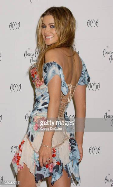 Carmen Electra during The 30th Annual American Music Awards Press Room by Gregg DeGuire at Shrine Auditorium in Los Angeles California United States