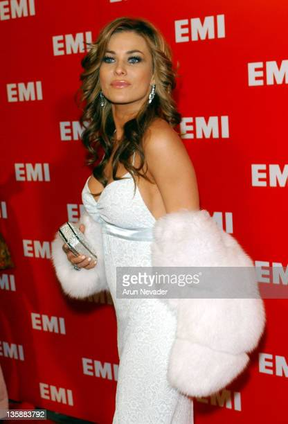 Carmen Electra during The 46th Annual Grammy Awards EMI Post Grammy Party at Los Angeles County Museum of Art in Los Angeles California United States