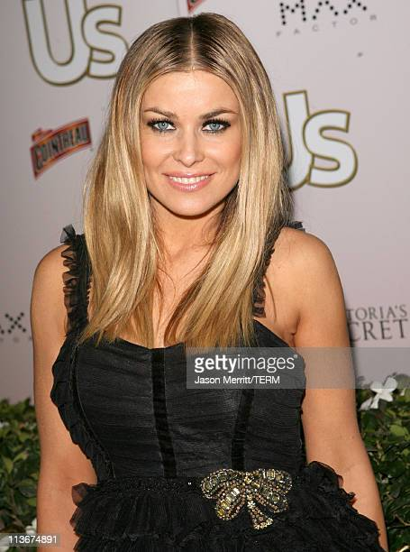 Carmen Electra during Us Weekly Presents Us' Hot Hollywood 2007 Red Carpet at Sugar in Hollywood California United States