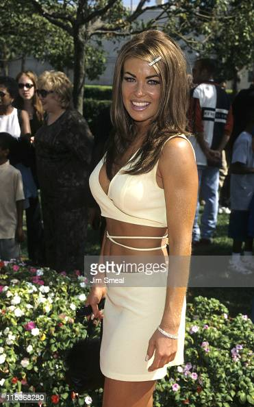 Carmen Electra during World Premiere of 'Good Burger' at Paramount Theatre in Hollywood California United States