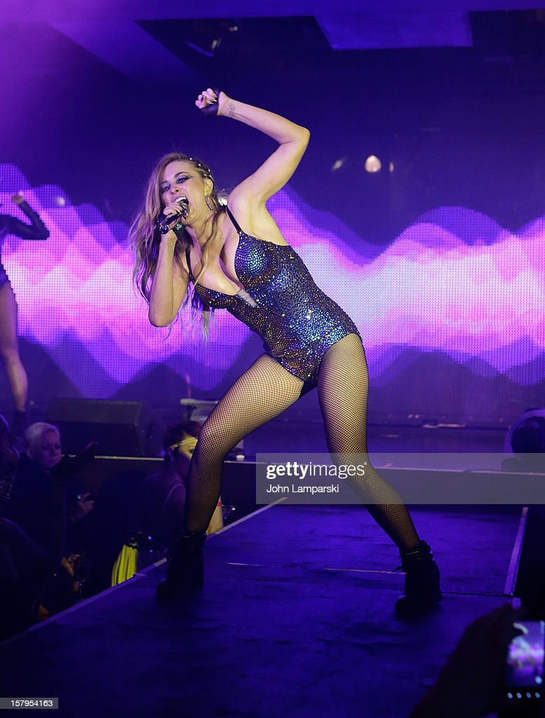 Carmen Electra performs at Mike Ruiz' Birthday Gala at XL Nightclub on December 7, 2012 in New York City.