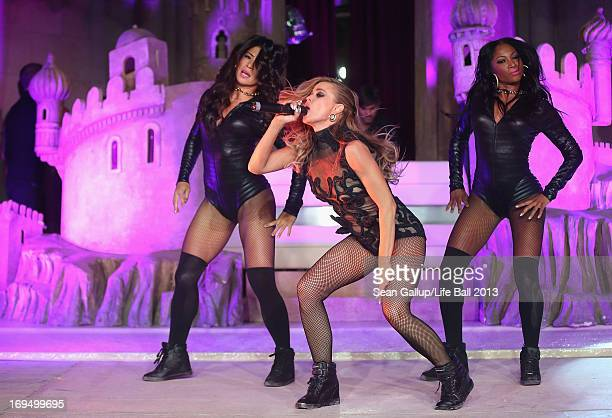 Carmen Electra performs at the after show party at the 2013 Life Ball at city hall on May 25 2013 in Vienna Austria