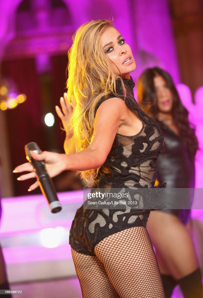 Carmen Electra performs at the after show party at the 2013 Life Ball at city hall on May 25, 2013 in Vienna, Austria.