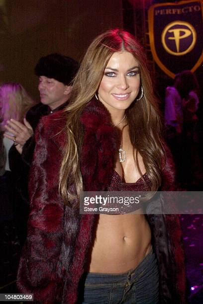 Carmen Electra rings in the New Year at Spundae New Years Eve on Hollywood Blvd