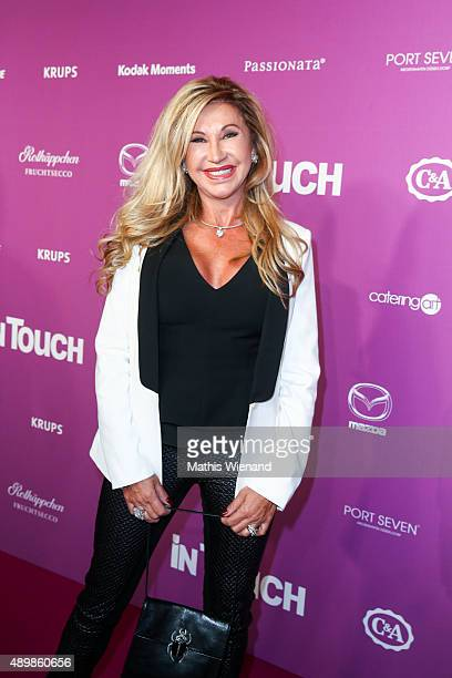 Carmen Geiss attends the Icons Idols No 3 event to celebrate the 10th anniversary of InTouch magazine on September 24 2015 in Duesseldorf Germany