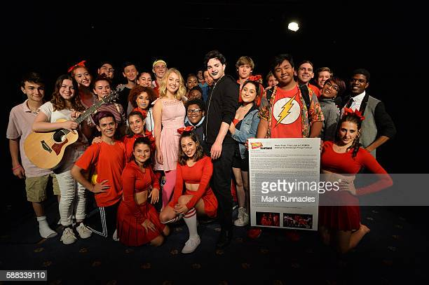 Carmen High cast members Dominique Adapon Darci Anderson Connor Bezark Grant Grayson Bower Naja Burton Maria Campo Jackson Hatwan Chris James...