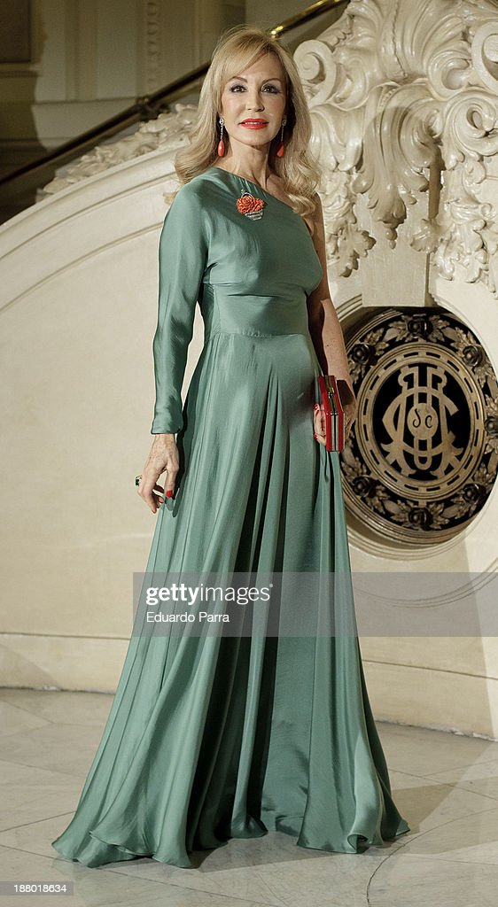 <a gi-track='captionPersonalityLinkClicked' href=/galleries/search?phrase=Carmen+Lomana&family=editorial&specificpeople=5840157 ng-click='$event.stopPropagation()'>Carmen Lomana</a> attends the Ralph Lauren Dinner Charity Gala at the Casino de Madrid on November 14, 2013 in Madrid, Spain.
