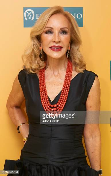 Carmen Lomana attends the SICAB Closing Gala 2017 on November 18 2017 in Seville Spain