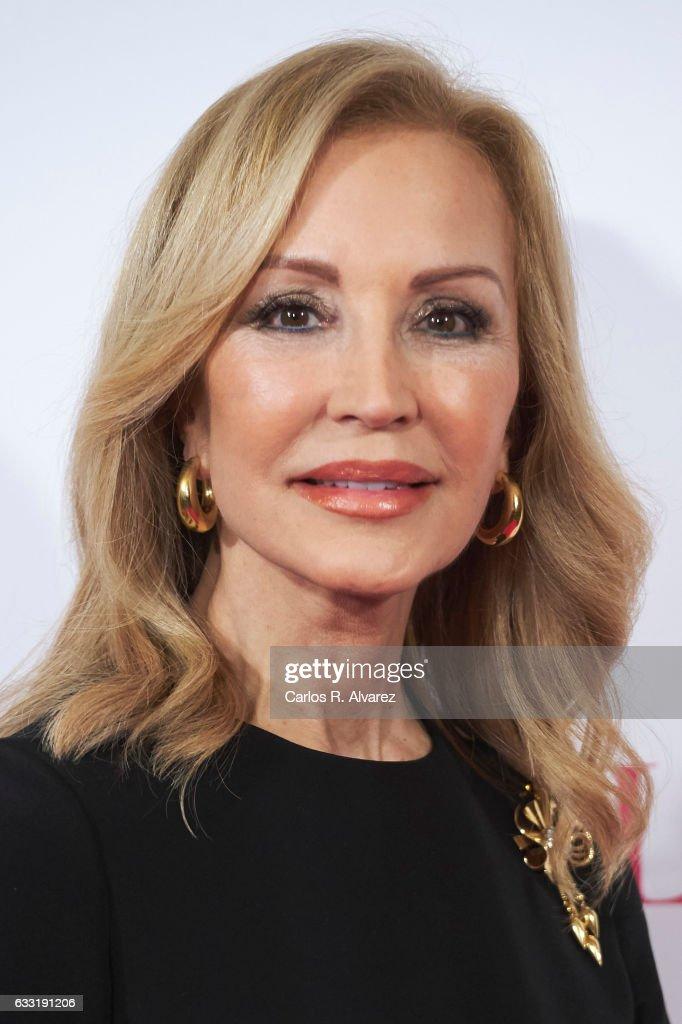 Carmen Lomana attends the 'Telva Beauty' awards 2016 at the Palace Hotel on January 31, 2017 in Madrid, Spain.