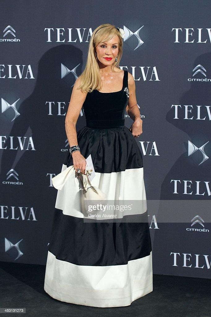 Carmen Lomana attends the Telva Magazine Fashion Awards 2013 at the Palacio de Cibeles on December 2, 2013 in Madrid, Spain.