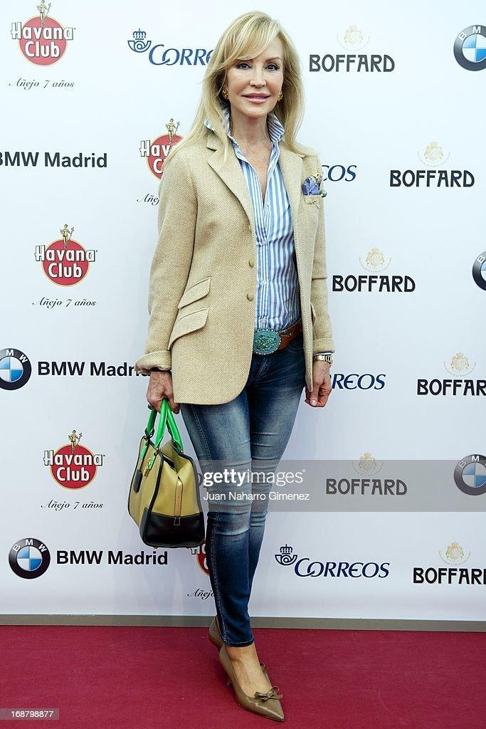 Carmen Lomana attends 'VIP Arte Taurino Tour' photocall at Espacio del Arte y La Cultura on May 15, 2013 in Madrid, Spain.