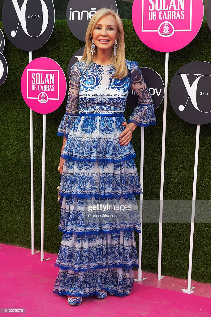 <a gi-track='captionPersonalityLinkClicked' href=/galleries/search?phrase=Carmen+Lomana&family=editorial&specificpeople=5840157 ng-click='$event.stopPropagation()'>Carmen Lomana</a> attends 'Yo Dona' International awards on June 27, 2016 in Madrid, Spain.