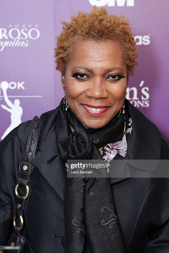 Carmen Lundy arrives at the Kareem Abdul-Jabbar Celebrity Roast Hosted By George Lopez at JW Marriott Los Angeles at L.A. LIVE on November 17, 2012 in Los Angeles, California.