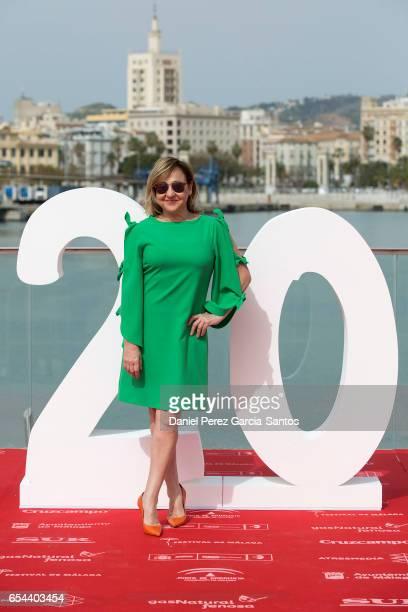 Carmen Machi attends 'El bar' photocall during the 20th Malaga Film Festival on March 17 2017 in Malaga Spain