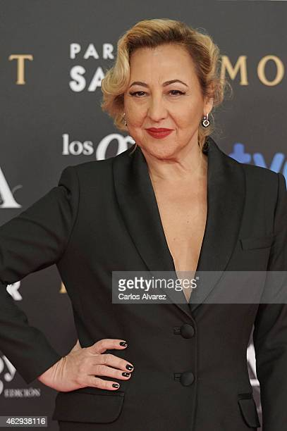 Carmen Machi attends Goya Cinema Awards 2014 at Centro de Congresos Principe Felipe on February 7 2015 in Madrid Spain