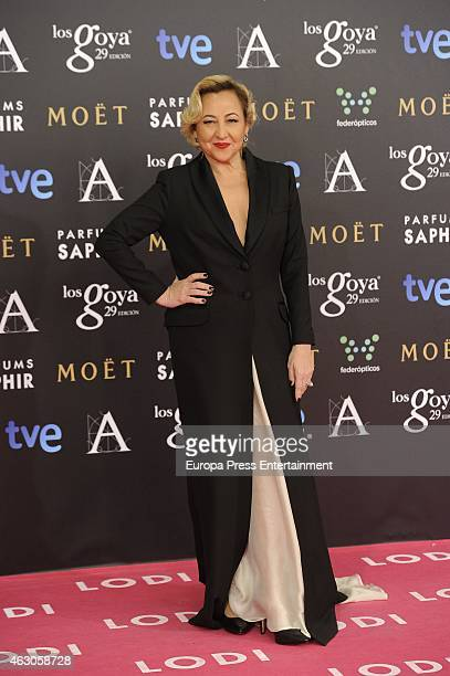 Carmen Machi attends Goya Cinema Awards 2015 at Centro de Congresos Principe Felipe on February 7 2015 in Madrid Spain