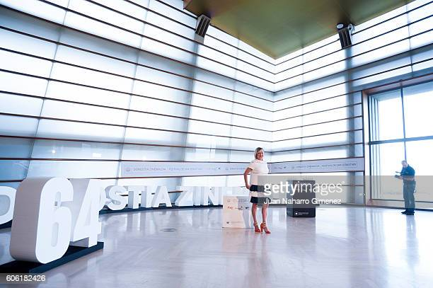 Carmen Machi attends 'Manda Huevos' photocall during 64th San Sebastian Film Festival on September 16 2016 in San Sebastian Spain