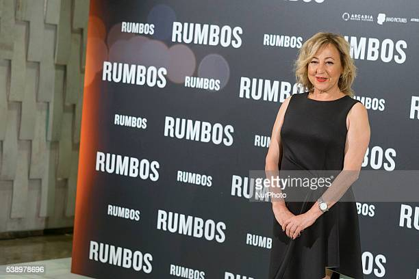 Carmen Machi attends 'Rumbos' photocall at NH Collection Eurobuilding Hotel on June 9 2016 in Madrid Spain
