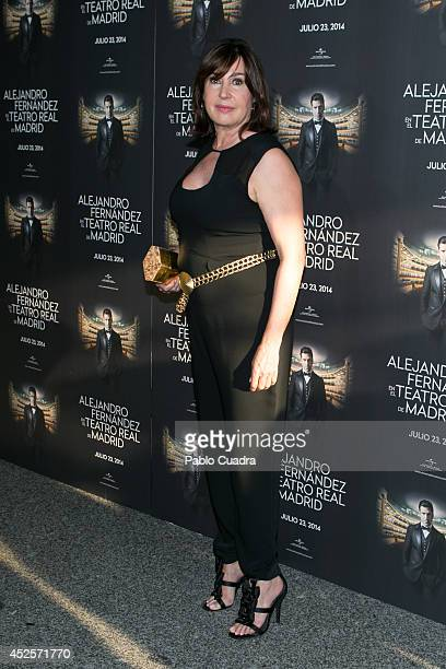 Carmen Martinez Bordiu attends Alejandro Fernandez concert at 'Teatro Real' on July 23 2014 in Madrid Spain