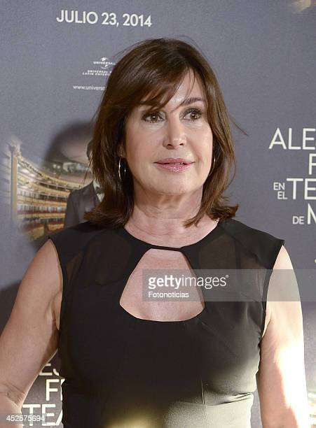 Carmen Martinez Bordiu attends Alejandro Fernandez concert at Teatro Real on July 23 2014 in Madrid Spain
