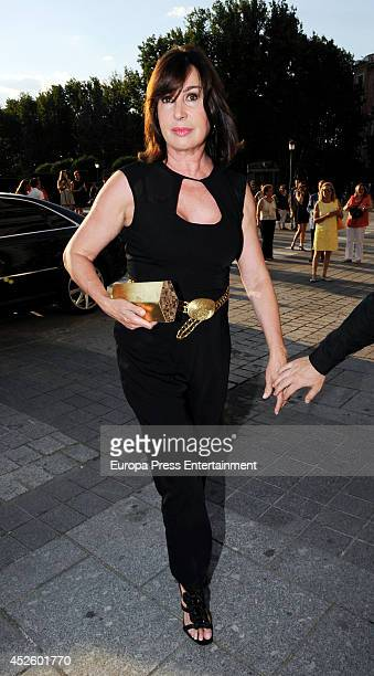 Carmen Martinez Bordiu attends Alejandro Fernandez concert on July 23 2014 in Madrid Spain