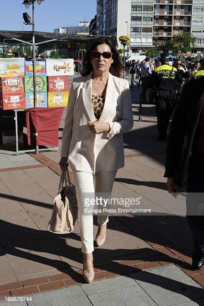Carmen Martinez Bordiu attends at Las Ventas Bullring on May 24 2013 in Madrid Spain