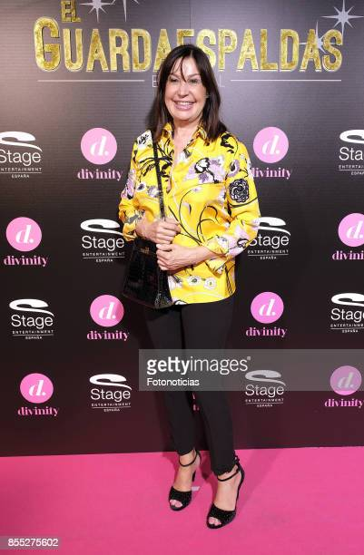 Carmen Martinez Bordiu attends the 'El Guardaespaldas' musical premiere at the Coliseum Theater on September 28 2017 in Madrid Spain