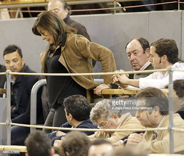 Carmen Martinez Bordiu attends the homage to Vicente Yanguez El Chano at Vista Alegre bullring on March 22 2014 in Madrid Spain The bullfighter was...