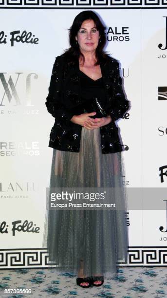Carmen Martinez Bordiu attends the Jorge Vazquez night party during the MercedesBenz Fashion Week Madrid Spring/Summer 2018 at AC Santo Mauro Hotel...