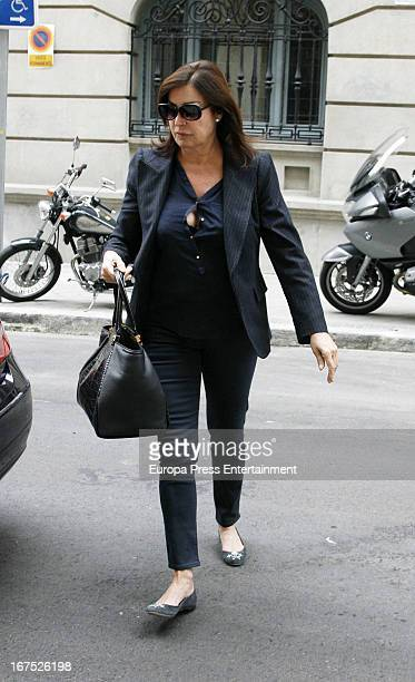 Carmen Martinez Bordiu is seen on April 25 2013 in Madrid Spain