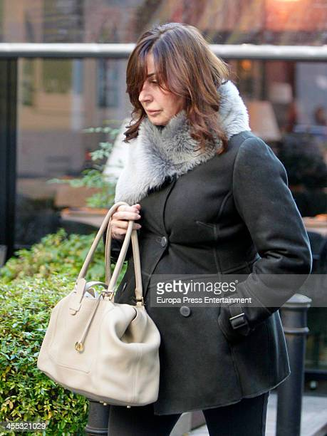 Carmen Martinez Bordiu is seen on December 11 2013 in Madrid Spain