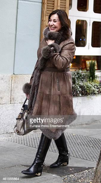 Carmen Martinez Bordiu is seen on January 14 2015 in Madrid Spain