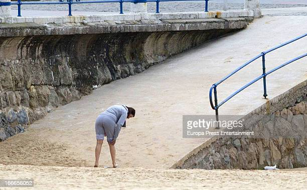 Carmen Martinez Bordiu is seen on March 4 2013 in Santander Spain