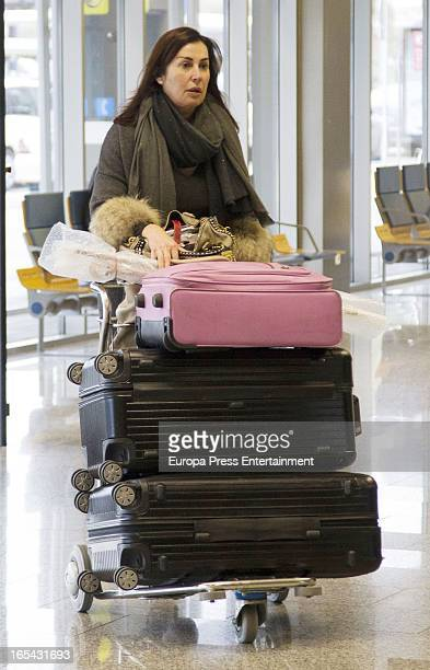 Carmen Martinez Bordiu is seen on March 5 2013 in Santander Spain