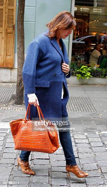 Carmen Martinez Bordiu is seen on October 16 2014 in Madrid Spain