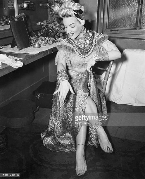Carmen Miranda in Costume