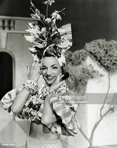 Carmen Miranda plays Rosita Rivas in the 1941 film WeekEnd in Havana
