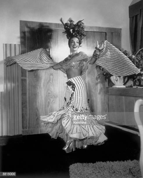 Carmen Miranda the Brazilian singer