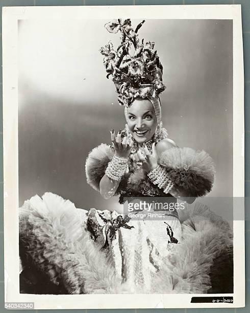 Carmen Miranda Wearing Famous Costume