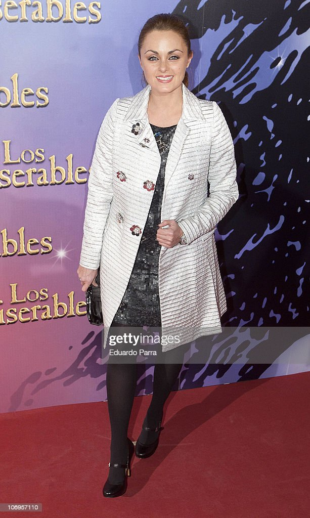 Carmen Morales attends Los Miserables premiere photocall at Lope de Vega theatre on November 18, 2010 in Madrid, Spain.