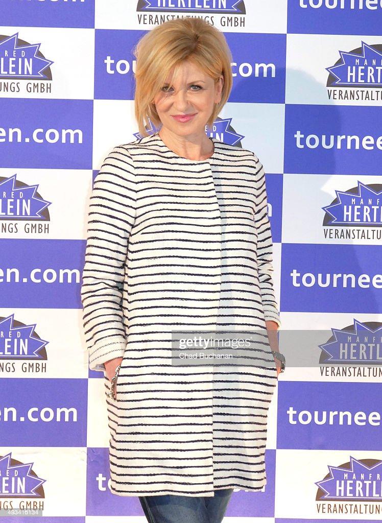 Carmen Nebel at the 'Willkommen bei Carmen Nebel' Tour - Press Conference on October 20, 2015 in Berlin, Germany.