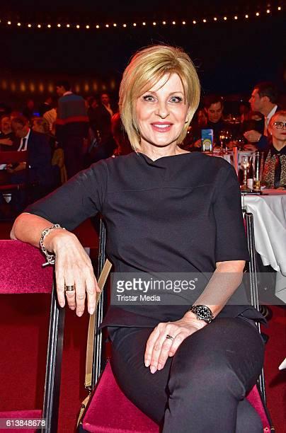 Carmen Nebel attends the Deutscher Musical Theater Preis 2016 on October 11 2016 in Berlin Germany