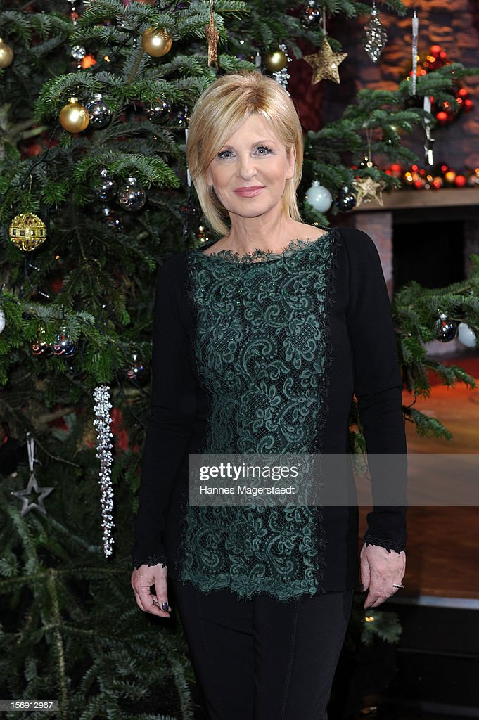 Carmen Nebel attends the 'Heiligabend Mit Carmen Nebel' Show Taping at the Bavaria Studios on November 24, 2012 in Munich, Germany.