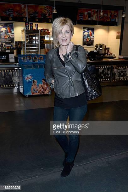 Carmen Nebel attends the 'Sein letztes Rennen' Premiere at Kino in der Kulturbrauerei on October 7 2013 in Berlin Germany