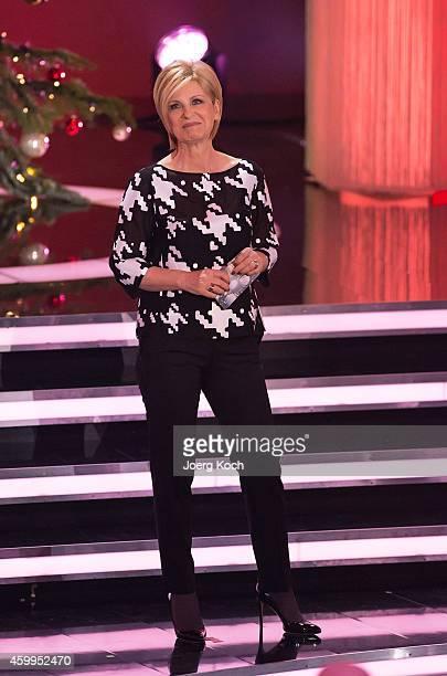 Carmen Nebel attends the TV show 'Die schönsten Weihnachtshits' on December 4 2014 in Munich Germany