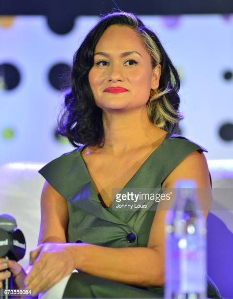 Carmen Perez during The Billboard Latin Music Conference Awards LATINX Activisim panel at Ritz Carlton South Beach on April 26 2017 in Miami Beach...