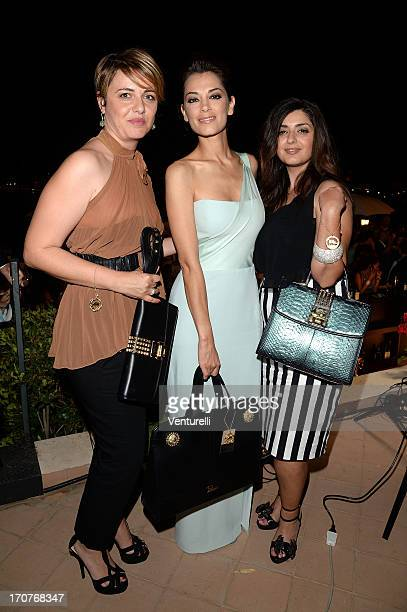 Carmen Plateroti Giorgia Surina and guest attend Taormina Filmfest 2013 on June 17 2013 in Taormina Italy
